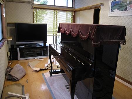 ピアノ移動